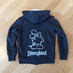Disneyland zip up hoodie